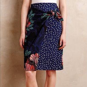 Maeve Petal Pop Wrap Skirt